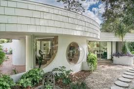 circular modern home with triangular pool asks 350k curbed