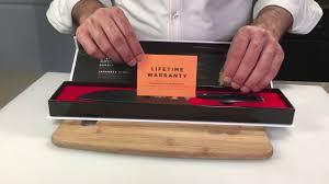 kyoto knives samurai series santoku product video youtube