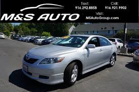 toyota camry se 2007 pre owned 2007 toyota camry se sedan 4d 4dr car in sacramento