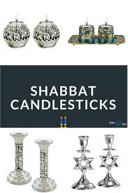 yehuda shabbos candles 30 unique shabbat candlesticks candle holders from israel