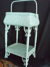 Blue Wicker Rocking Chair Ornate Painted Wicker Rocking Chair Cane U0026 Wicker Pinterest