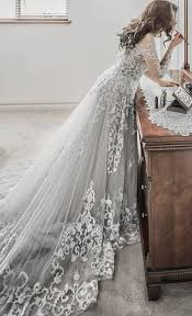 white and grey wedding dress best 25 grey wedding dresses ideas on wedding gowns