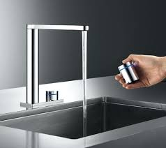 touch kitchen faucet kwc ono touch light pro with touch bathroom faucets