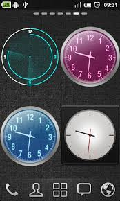 clock themes for android mobile go clock widget download install android apps cafe bazaar