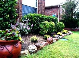 Lava Rock Garden Rock Landscape Design Ideas Mulch And River Rock Landscaping River