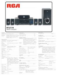 rca dvd home theater system troubleshooting download free pdf for rca rt2770 home theater manual