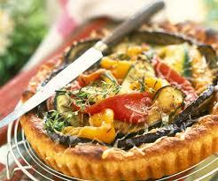 cuisiner des legumes recette gourmande tarte aux légumes d été