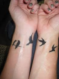 little bird tattoos on inner wrist in 2017 real photo pictures