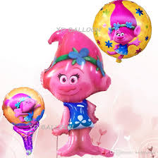 foil balloons trolls balloon toys birthday party foil balloons globos