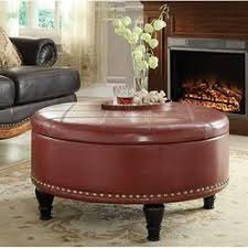 inspired by bassett caldwell eco leather storage ottoman