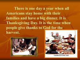 there is one day a year when all americans stay home with their