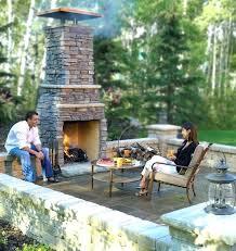 Outdoor Patio Fireplace Designs Backyard Places Outdoor Fireplace And Outdoor Kitchen Design