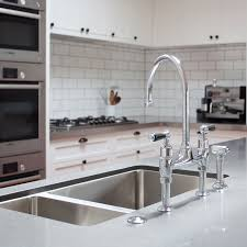 perrin rowe 4173 ionian deck mounted mixer tap with lever tap with swivel spout and lever handles is available in a range of colour finishes this perrin and rowe kitchen tap benefits from