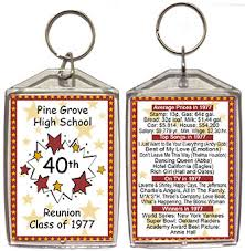 high school reunion gifts class reunion favors personalized souvenirs for your high school