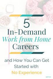 best 25 work from home careers ideas on career ideas