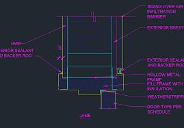 Installing Exterior Door Jamb Door Jamb Detail Cad Fresh On Ideas Replacing Exterior 6