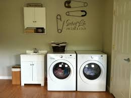 How To Decorate A Laundry Room Decorating Some Diy For The Laundry Room The Happy Housie