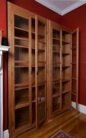 Pine Bookcase With Doors Ikea Bookcases With Glass Doors Korter Pinterest Glass Doors