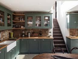Green Brick Backsplash Tiles Transitional Transitional Design Backless Bar Stools Subway Tiles Kitchen