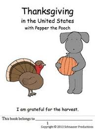 thanksgiving history with vocabulary with pepper