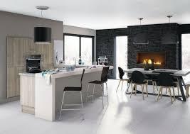 cuisine blanche et grise cuisine moderne grise et bois cuisine grise moderne astuces et