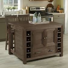 home styles barnside kitchen island with optional stools hayneedle