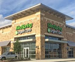 katy falcon landing medspring urgent care