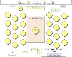 wedding floor plans floor plans