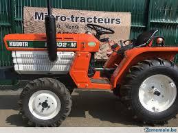 siege pour micro tracteur kubota micro tracteur kubota 4x4 19ch reconditionné 2ememain be
