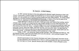 thanksgiving brief history 2007 celebration of thanksgiving st henrys