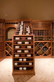 furniture custom wine cellar racks with best lighting and glass