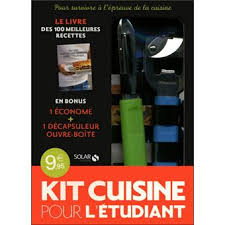 cuisine de l 騁udiant le kit cuisine pour l étudiant coffret avec 1 décapsuleur ouvre