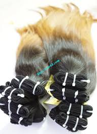 European Weave Hair Extensions by Ombre Hair 100 Human Hair 20 Inch Ombre Hair Extensions