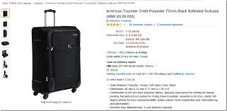 amazon black friday luggage 50 off on american tourister bags u0026 luggage 10 further cashback