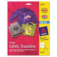 avery r t shirt transfers for inkjet printers 3279 8 1 2 x