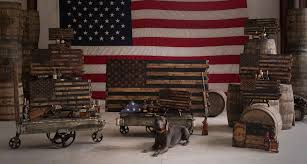 How Many Stars On The United States Flag Barrel Wood American Flags Page 1 The Heritage Flag Company