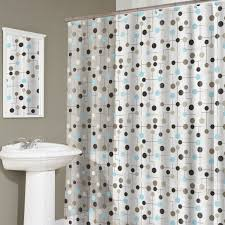Black And White Polka Dot Curtains Gorgeous And Stunning Curtains For Bathroom Decoration