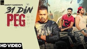 31 Din Peg Lyrics Full Video Harvy Sandhu Desi Crew Latest