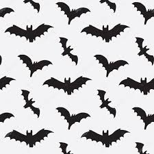 halloween bat pattern u2014 stock vector goosefrol 87120982