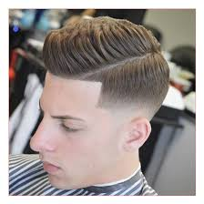 long hairstyles for men with fine hair or quiff with mid bald fade