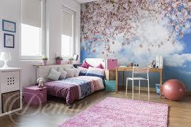 odeur chambre odeur du printemps mur à la chambre de la fille papiers