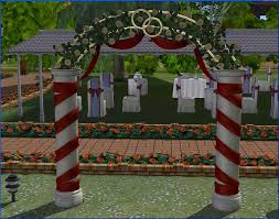 wedding arches sims 3 sullivan wedding arch recolours
