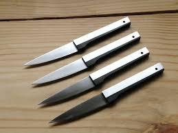 modern kitchen knives vintage vernco black angus steak knives mid century modern set of