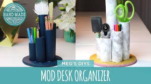 Desk Top Organizer Hutch by Dorm Decor Desk Organizer Hgtv Handmade Youtube