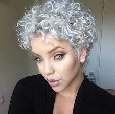 naturally curly gray hair natural hairstyles for short gray hair