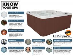 qca spas cozumel ultra tub spa sauna direct