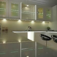led kitchen cupboard cabinet lights led kitchen cabinet cupboard light square surface 6mm flat panel light ebay