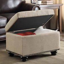 modern wood ottomans footstools u0026 poufs ebay