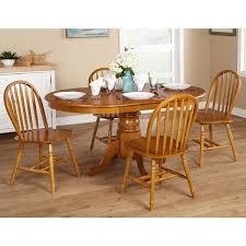 oak dining room sets simple living farmhouse 5 or 7 oak dining set free