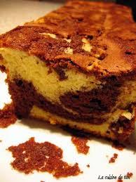 cuisine facile a faire cake marbré chocolat vanille la cuisine facile de tini